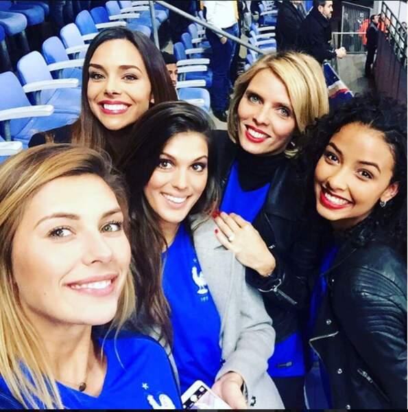 Nos Miss sont également de grande supportrice de foot !