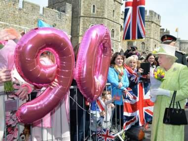 La reine Elisabeth II fête ses 90 ans avec son peuple