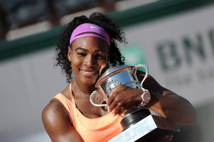 Serena Williams s'impose en 2015 et en 2013
