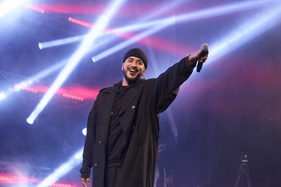 Slimane. En 2016, le chanteur remportait la cinquième saison de The Voice sur TF1.