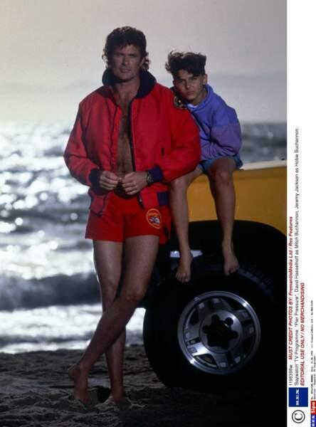 Jeremy Jackson dans la série Alerte à Malibu en 1991