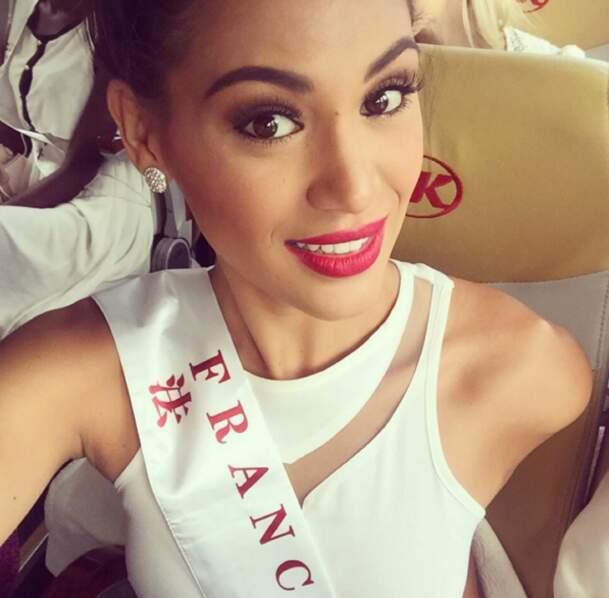 Jolie elle aussi : Hinarere Taputu, alias Miss France à Miss Monde 2015 !