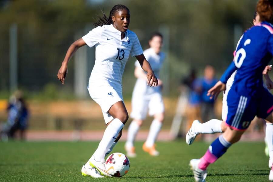 20 ans, 6 sélections, Kadidiatou Diani a déjà tout d'une grande
