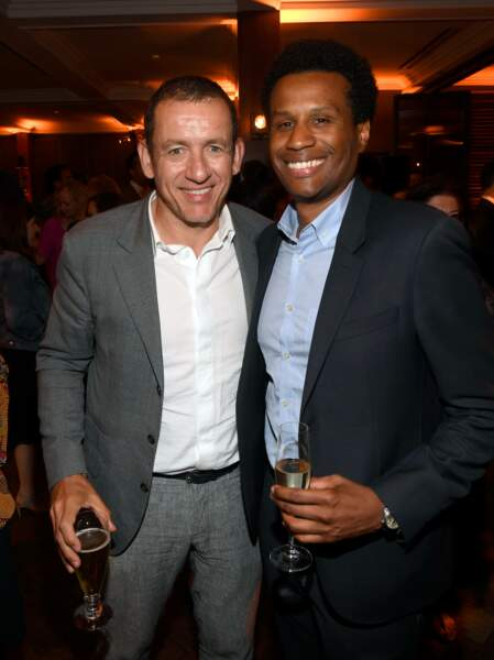 Dany Boon et le producteur Tendo Nagenda