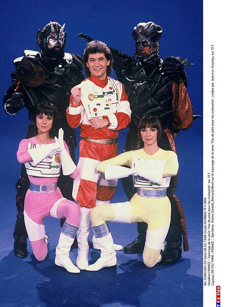 Même le costume de Bioman !