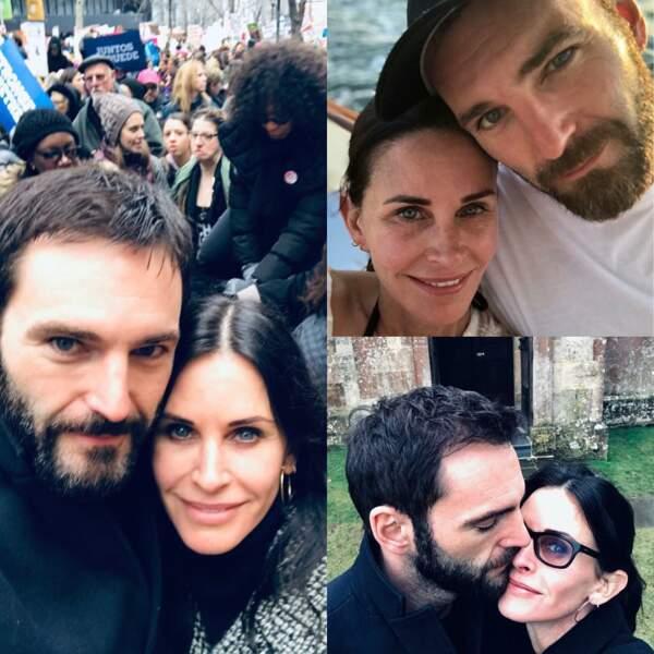 Sur Instagram, Courteney Cox ne cache pas son bonheur avec Johnny McDaid, l'un des membres du groupe Snow Patrol