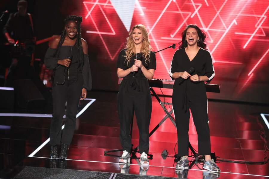 Les JAT, trio de filles, sont dans l'équipe de Pascal Obispo