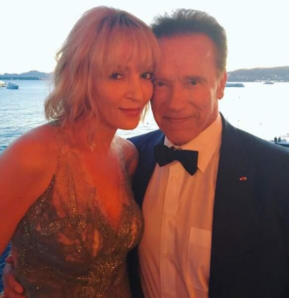 Uma Thurman et Arnold Schwarzenegger… rien que ça !