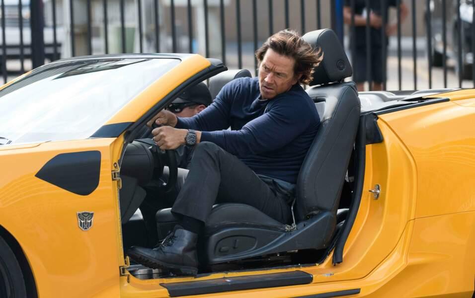 Mark Wahlberg à Detroit sur le tournage de Transformers 5 : The Last Knight