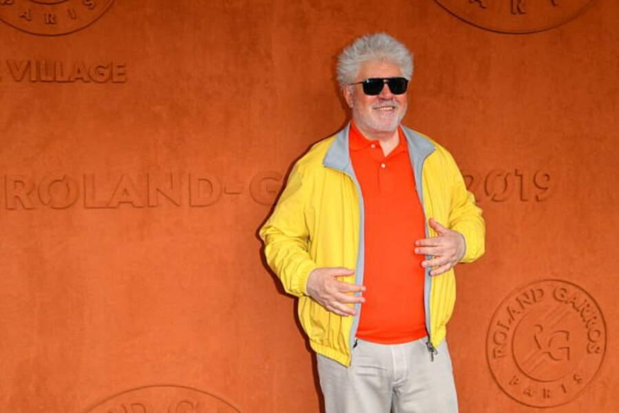 Le réalisateur Pedro Almodóvar, de retour de Cannes