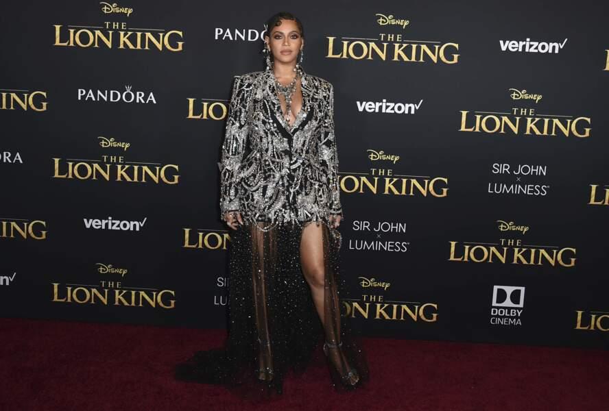 Dans la version live du Roi Lion, Beyoncé prête sa voix au personnage de Nala