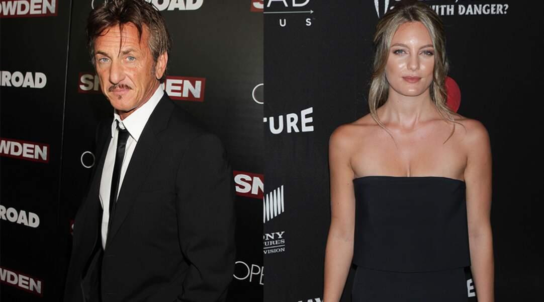 Sean Penn est en couple avec Leila George, fille de l'acteur Vincent d'Onofrio.