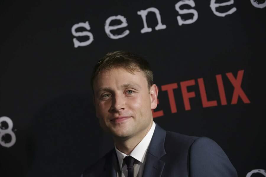 Max Riemelt, qui incarnait Wolfgang Bogdanow dans Sense8
