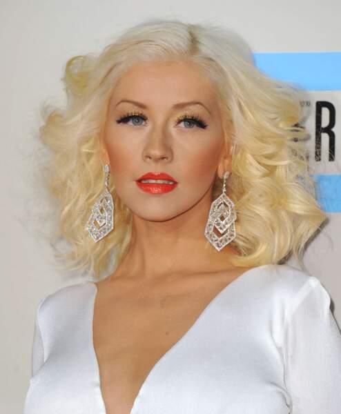 68. Christina Aguilera (chanteuse)