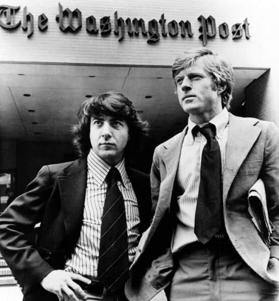 Les hommes du président : Dustin Hoffman et Robert Redford sont Bernstein et Woodward, qui ont révélé le Watergate