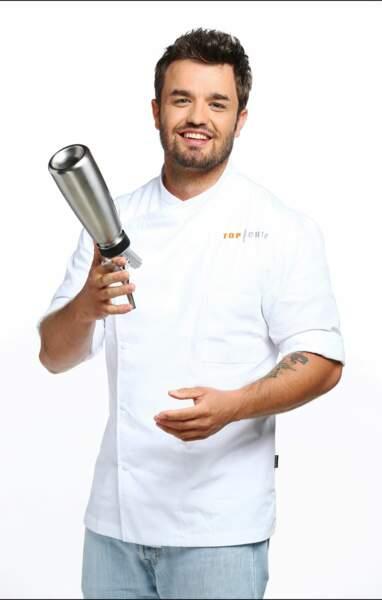 Voici Clément Torres, 29 ans, second de cuisine dans un établissement toulousain