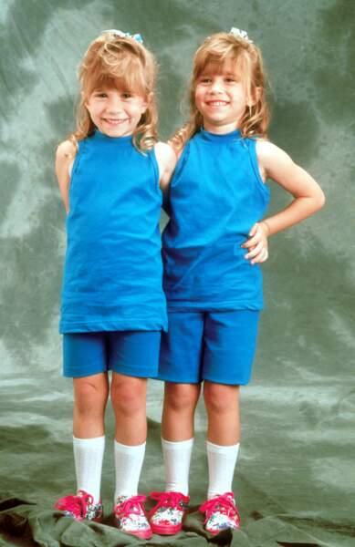 Mary-Kate et Ashley Olsen, les jumelles de La Fête à la maison
