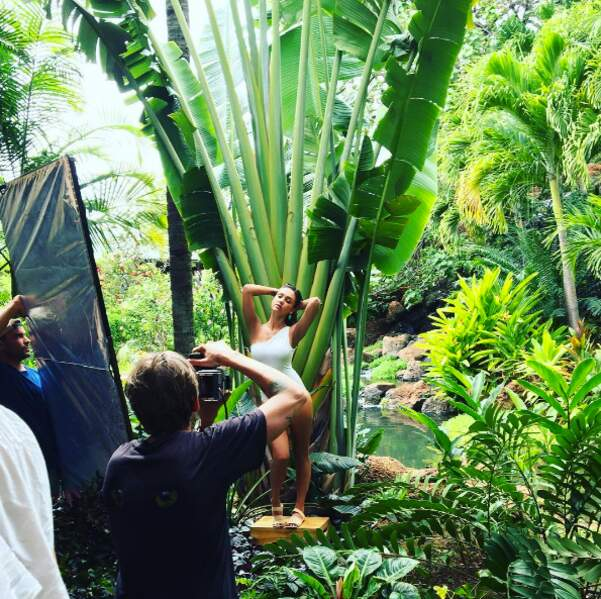 Et souvenir d'un shooting photo à Hawaii pour Jessica Alba !