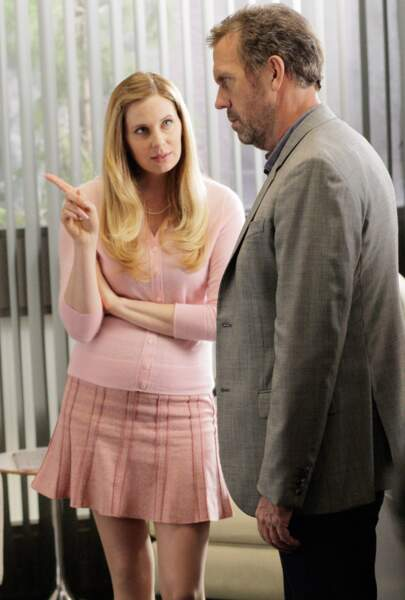 Amber Volakis, la candidate garce pour entrer dans l'équipe de House puis compagne de Wilson