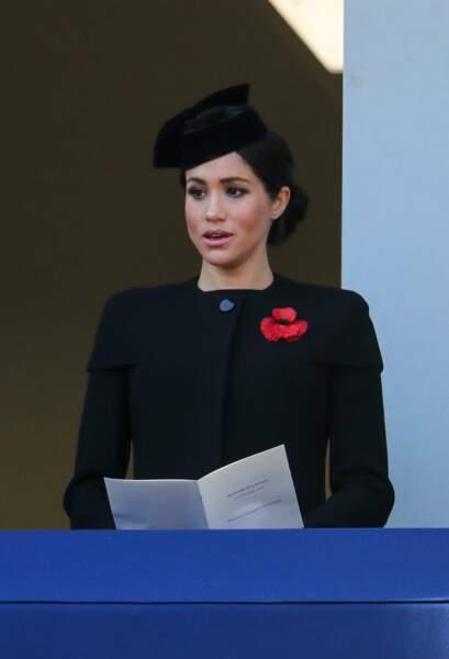 Meghan Markle, isolée du reste de la famille royale durant la cérémonie