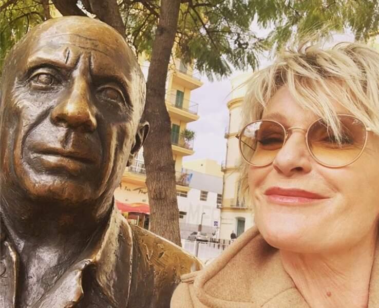 Sophie Davant a rencontré Pablo Picasso (ou presque) à Malaga.