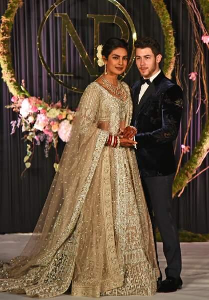 L'actrice Priyanka Chopra et le chanteur Nick Jonas célèbrent leur mariage en Inde le premier week-end de décembre