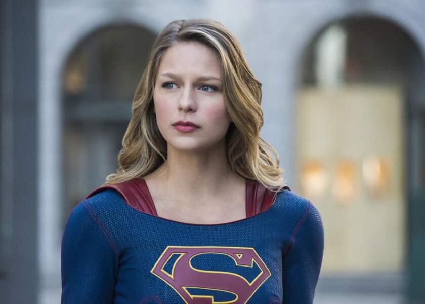 L'actrice est la tête d'affiche de la série Supergirl depuis 2015 !