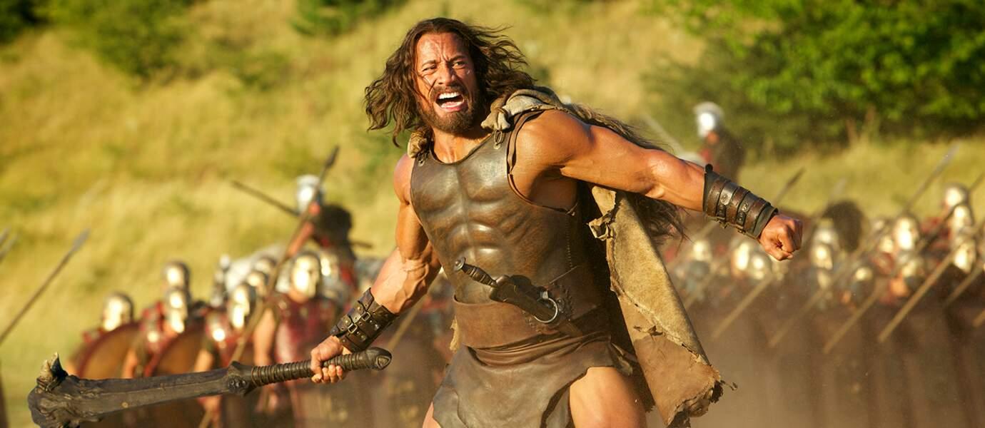 Le 27 août, Dwayne Johnson revêt le costume de la légende Hercule