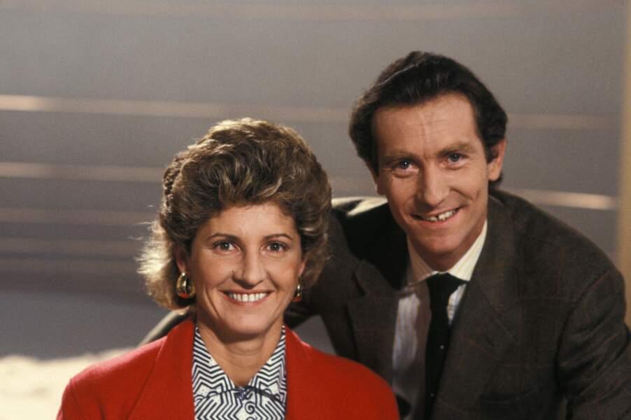 Premiers à affronter Jean-Pierre Pernaut : Patricia Charnelet et William Leymergie. Leur duo a duré de 1986 à 1989