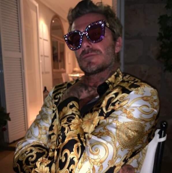 Et David Beckham dans la peau d'Elton John, ça donne ça !