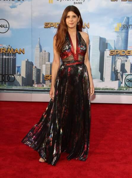 Marisa Tomei est la nouvelle Tante May du jeune super-héros
