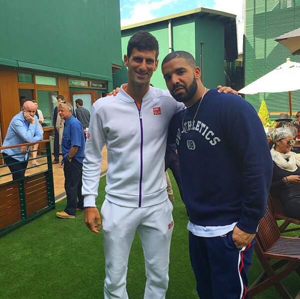 Wimbledon, c'est aussi l'occasion de faire sa groupie auprès des stars de la balle jaune...