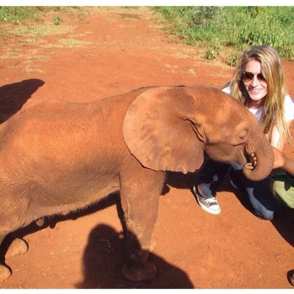 Gisele est l'amie des animaux.