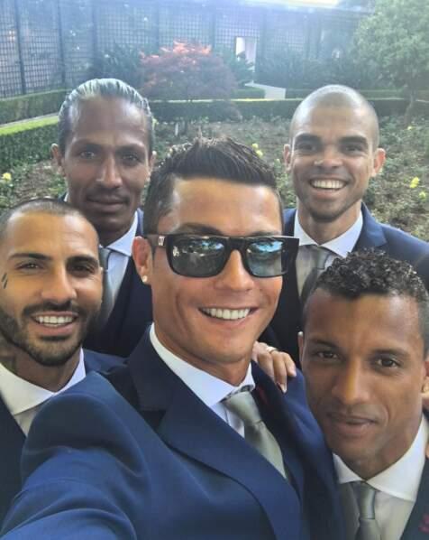 Cristiano, c'est un peu LA star de l'équipe du Portugal