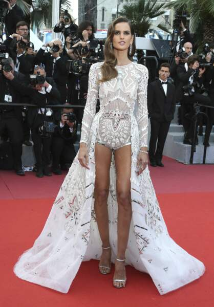 Le top model Izabel Goulart