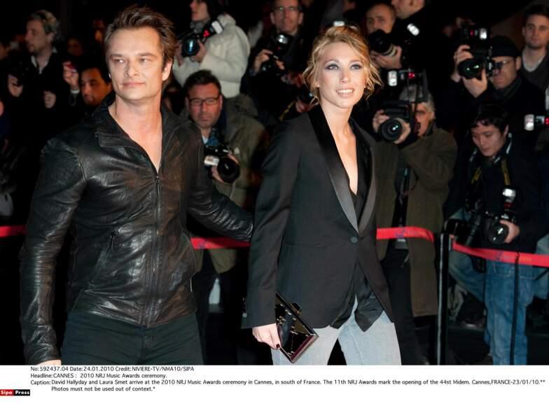 Avec sa soeur, Laura Smet