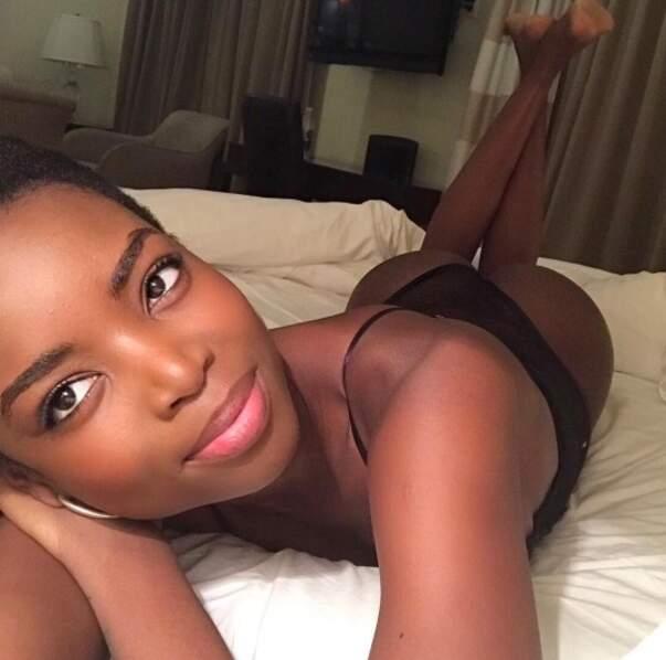 On se quitte avec Maria Borges, 24 ans, originaire d'Angola. A son compteur : plus de 408 000 followers.