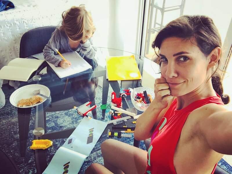 Daniela Ruah, l'actrice de NCIS : Los Angeles, à la maison…