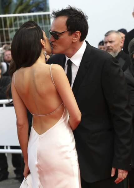 Quentin Tarantino et Daniella Pick
