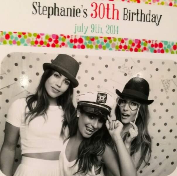 Lea Michele adore les soirée entre filles : elle a fêté les 30 ans de sa meilleure amie !