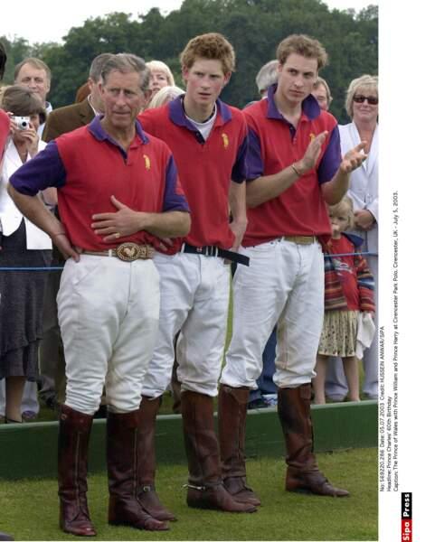 Sportifs comme papa, la dynastie Windsor a fière allure...