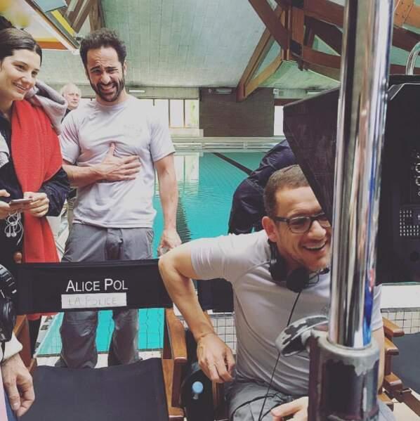 Et ça s'éclate grave sur le tournage de Raid Dingue, le nouveau film de Dany Boon !