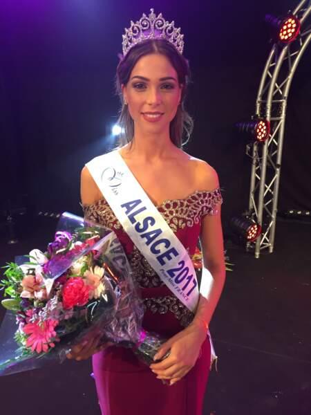 Joséphine Meisberger (20 ans) a été élue Miss Alsace