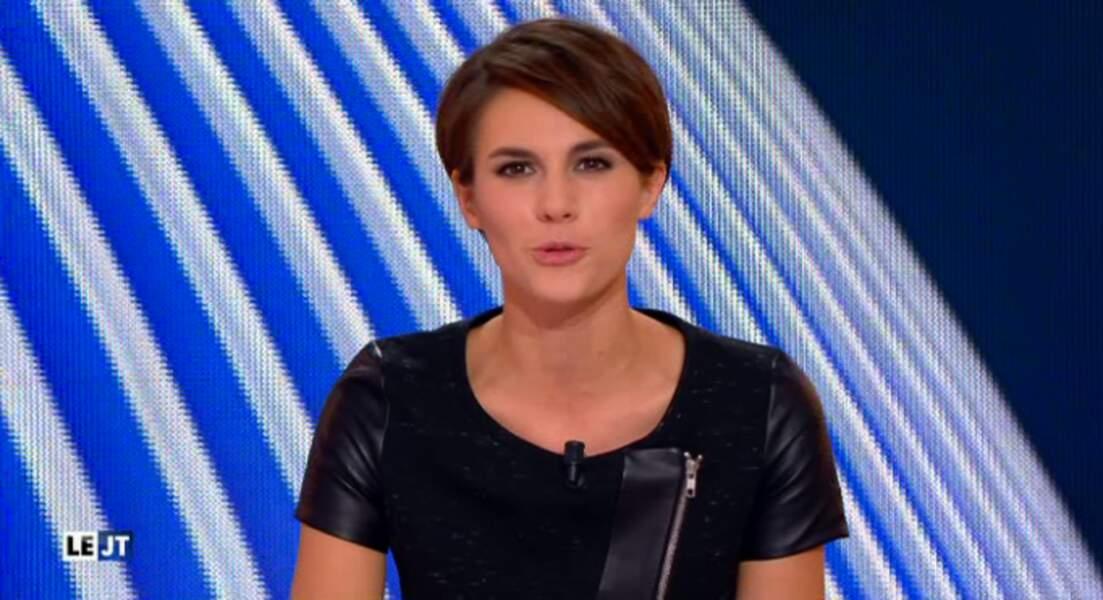 Que pensez-vous de la jolie robe bi-matière d'Emilie Besse ? Caliente, non ?