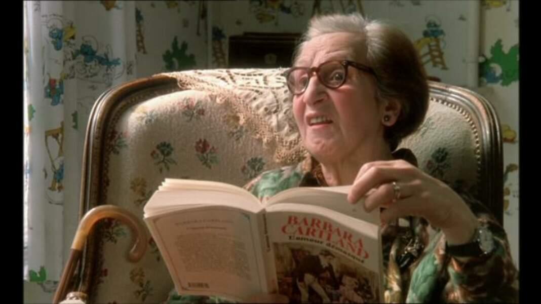Elle n'est pas mamie, mais impossible de passer à côté de Tsilla Chelton dans Tatie Danielle (1990)