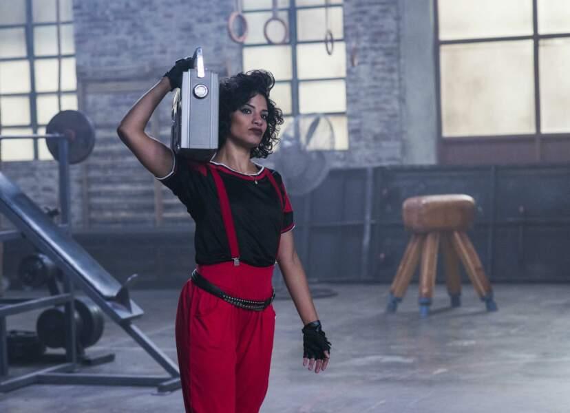 Yolanda Rivas se la joue Flashdance