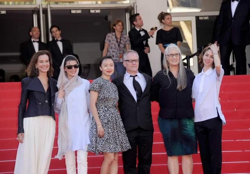 Les femmes du jury officiel étaient, elles aussi, bien là !