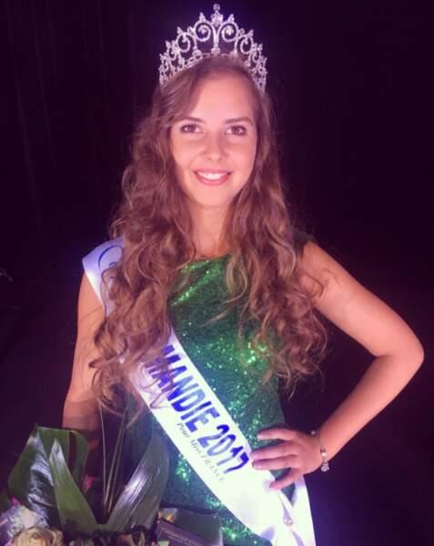 Alexane Dubourg (20 ans) élue Miss Normandie
