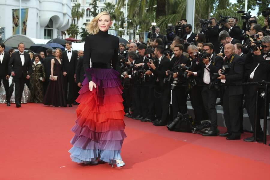 Cate Blanchett, une présidente haute en couleurs !