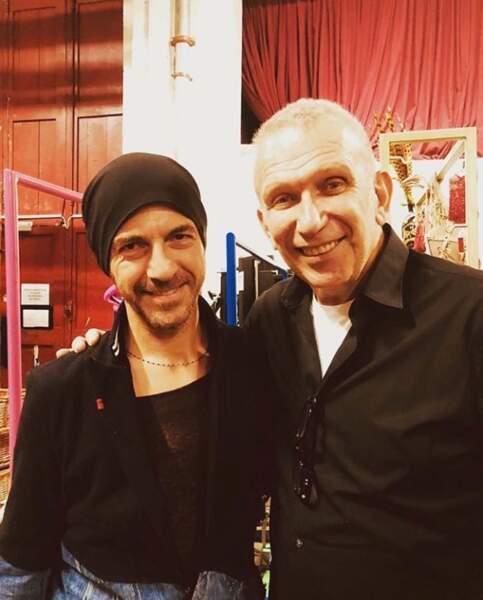 Jean Paul Gaultier et Calogero, un duo étonnant